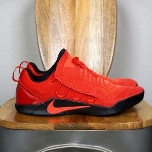 Nike Kobe A.D. NXT Zoom Red Basketball Shoes 14